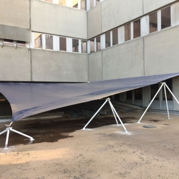 Construction - Tension Structures - Hospital